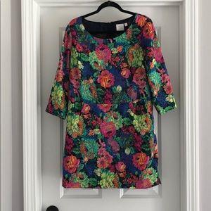 Size 6 EUC floral HD in Paris Anthropologie Dress